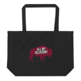 All My Relations - Buffalo Tribal Tote Bag