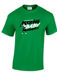 The 'Fucking baby weights' T-Shirt Green