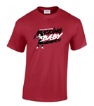 The 'Fucking baby weights' T-Shirt - Red