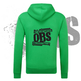 The OBS Hoodie/Zipper - Green