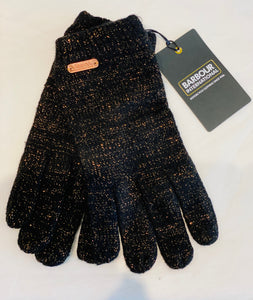 Gants Barbour international Gris/noir