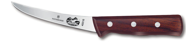 Rosewood Curved Boning Knife