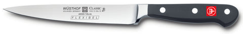 4550-7/16 wusthof classic flexible fillet knife. 6 icnhes. riveted handle.