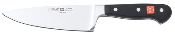 4584-7/16 wusthof classic wide chefs knife. 6 inches. riveted handle.