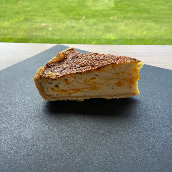 Cheese Quiche - Slice