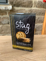 Stag Water Biscuits - Parmesan & Garlic (150g)