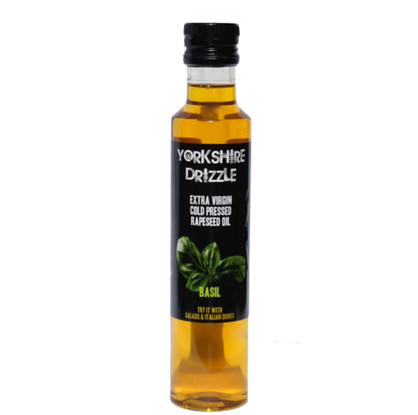 Yorkshire Drizzle Rapeseed Oil - Basil
