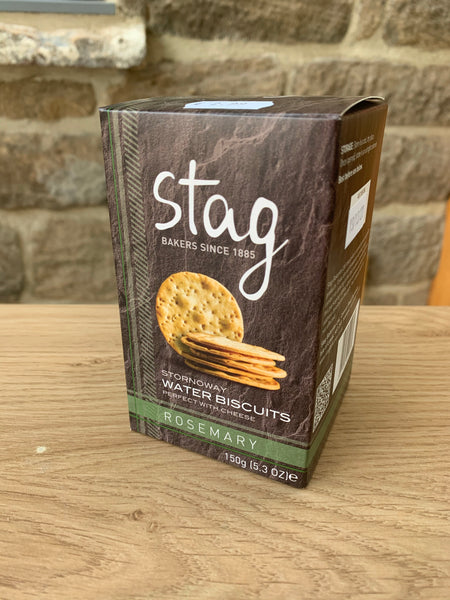 Stag Water Biscuits - Rosemary (150g)