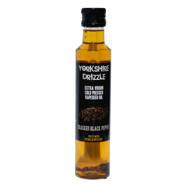 Yorkshire Drizzle Rapeseed Oil - Cracked Black Pepper