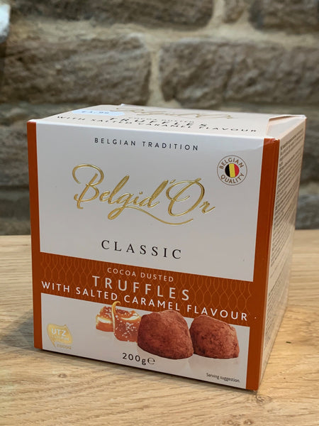 Belgid'Or Salted Caramel Flavour Truffles