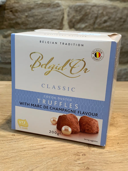 Belgid'Or Champagne Flavour Truffles