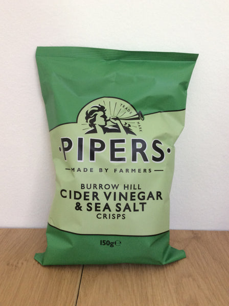 Pipers Crisps - Cider Vinegar & Salt (150g)