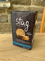 Stag Water Biscuits - Salt & Black Pepper (150g)