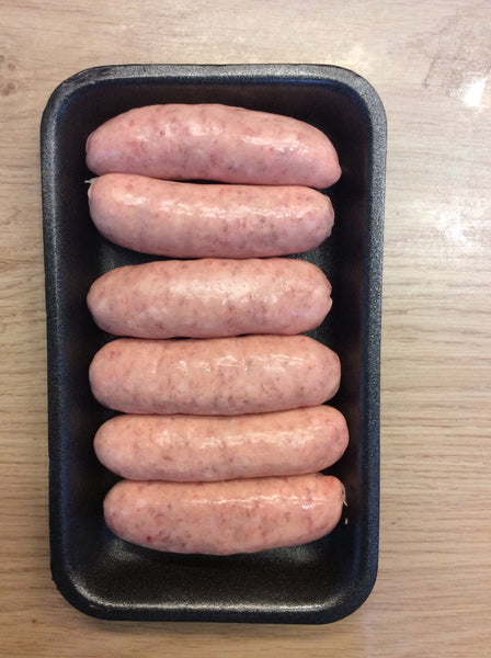 6 Pork Sausages
