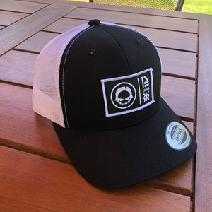 Tech Trucker Black/White