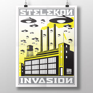 STELEKON Invasion Poster - Comic Con Exclusive