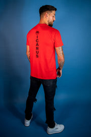 Icarus Legacy Tee - Red - Summer Edition