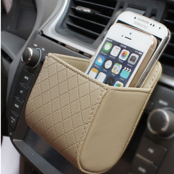 Multi-functional Auto Air Vent Car Storage Bag