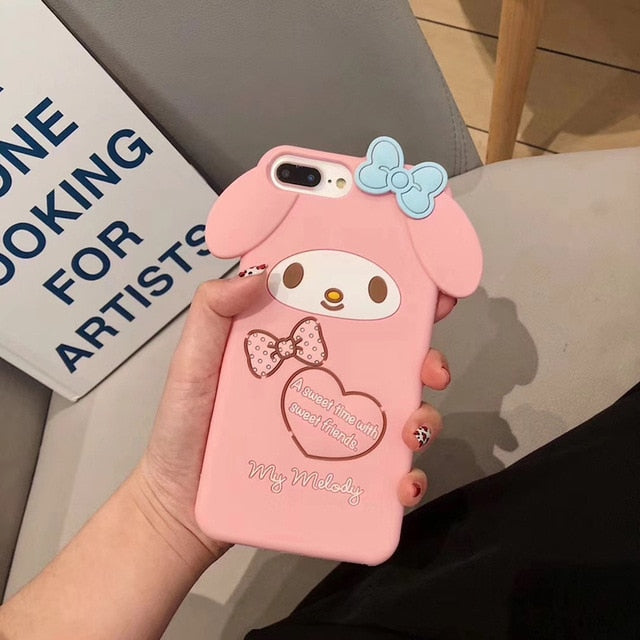 Luxury 3D Japanese Cute Phone Case iPhone