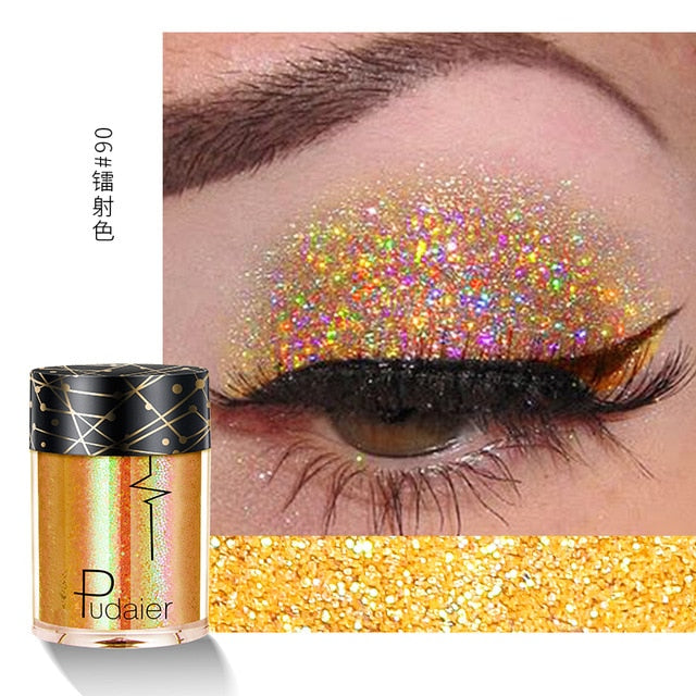 Eye Shadow Glitter & Shimmer 36 Colors