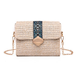 Women Summer Beach Straw Bag
