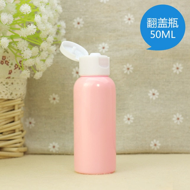 Portable Travel Empty Cosmetic Plastic Bottles