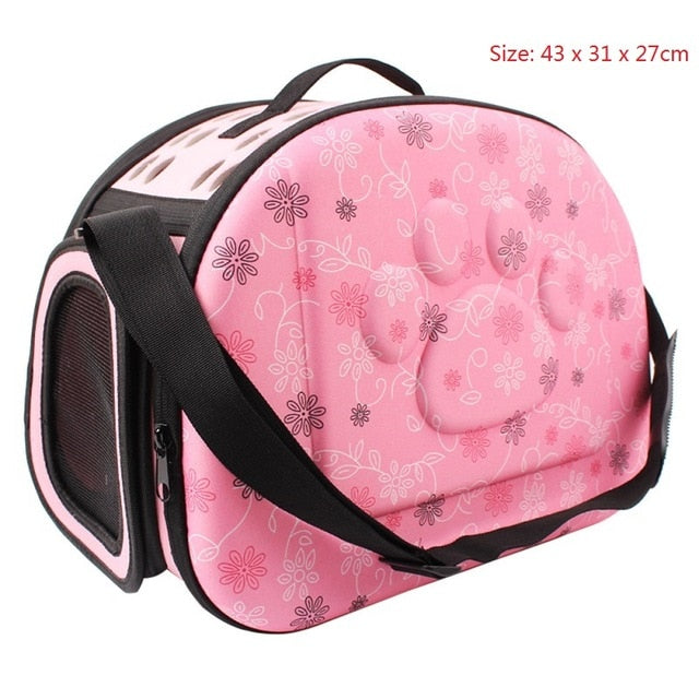 Foldable Pet Travel Carrier