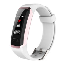 Load image into Gallery viewer, Letike GT101 Smart watch men Bracelet real-time monitor heart rate & sleeping best Couple Fitness Tracker pink fit women - monach-butterfly