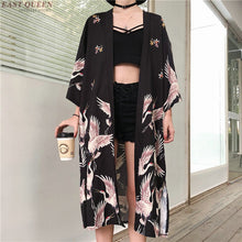 Load image into Gallery viewer, Women Kimono cardigan - monach-butterfly