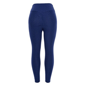 Ankle-Length Breathable Standard Fold Push Up  Legging
