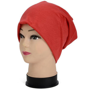 Unisex  Solid Color Knit Beanie Hats