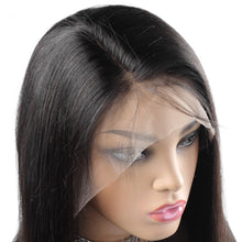 Load image into Gallery viewer, Straight Remy Brazilian Wig Human Hair  Lace Front Wig 8-24 250 Density Lace Wig