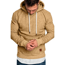 Load image into Gallery viewer, Men's Long Sleeve Solid Hoodie - monach-butterfly