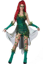 Load image into Gallery viewer, Women's Lethal Beauty Poison Ivy Cosplay Costume - monach-butterfly