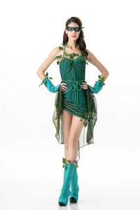 Women's Lethal Beauty Poison Ivy Cosplay Costume - monach-butterfly