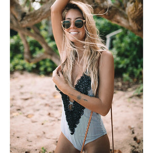 Sexy One Piece Swimsuit Women - monach-butterfly