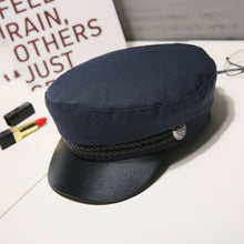 Load image into Gallery viewer, Autumn Winter Wool Sailor Hat For Women &Men