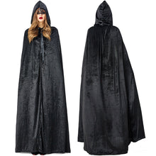 Load image into Gallery viewer, Women and Men Witch / Succubus Cloak Halloween Costumes - monach-butterfly