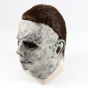 Halloween Michael Myers Mask Cosplay Costumes Props Classics  Amok Terror Ghost Mask - monach-butterfly