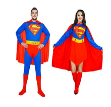Load image into Gallery viewer, Men and Women  Superman Costume - monach-butterfly