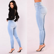 Load image into Gallery viewer, Denim Skinny High Waist Stretch Jeans - monach-butterfly