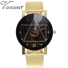 Load image into Gallery viewer, Casual Quartz Stainless Steel Band Marble Strap Watch Analog Wrist Watch - monach-butterfly