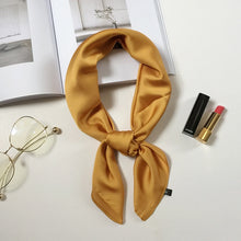 Load image into Gallery viewer, Silk scarf square scarves soft shawls