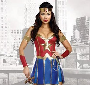 Wonder Woman Superhero costumes - monach-butterfly