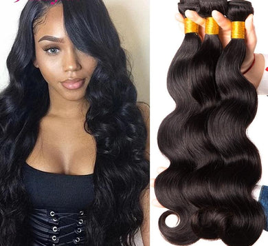 Body Wave Bundles Brazilian Hair Weave Bundles 100%  4 or 3 Bundles - monach-butterfly