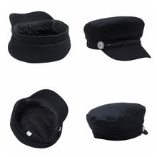 Load image into Gallery viewer, Women's black Hat  Wool Hat