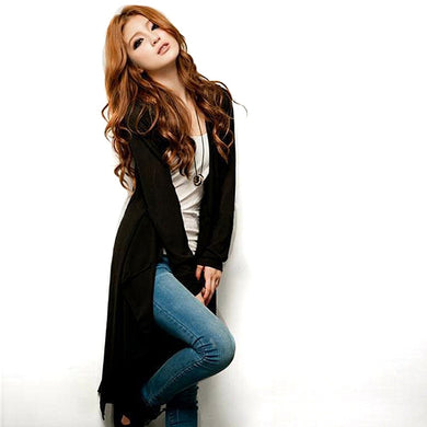 Thin  Long Sleeve  Long Cardigan Women