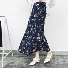 Load image into Gallery viewer, Bohemian High Waist Floral Print  Skirt - monach-butterfly