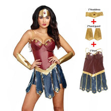 Load image into Gallery viewer, Wonder Woman Costumes Women Justice League - monach-butterfly