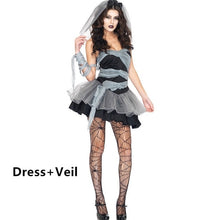 Load image into Gallery viewer, Women Vampire/ Zombie Halloween Costume - monach-butterfly
